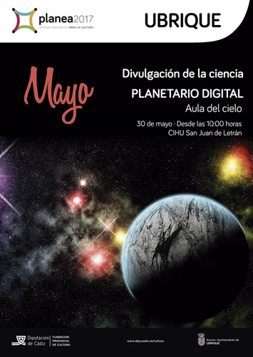 cartel planetario digital p
