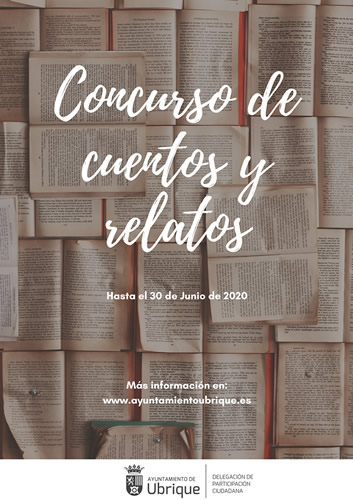 cartel concurso cuentos relatos 2020 p