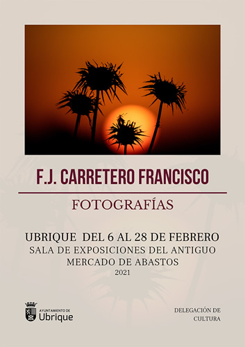 cartel expo fotografias fj carretero francisco p